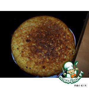 Рецепт Бабка из лапши с сыром
