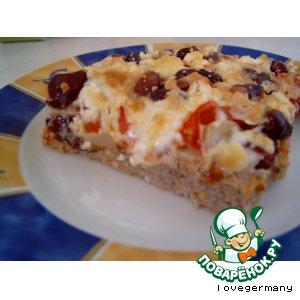 Рецепт Пицца из фарша