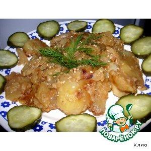 Пряная картошка с кунжутом рецепт приготовления с фотографиями пошагово готовим
