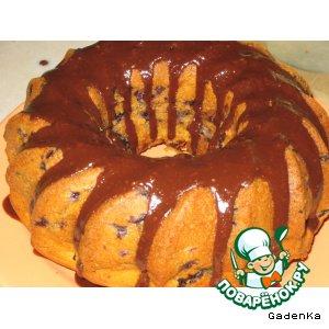 Рецепт Ванильный кекс с черникой