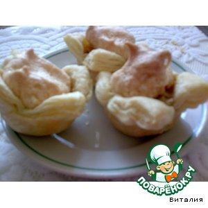 Рецепт Слоеные банановые пирожные