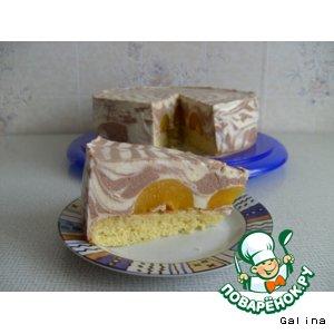 Рецепт Торт творожный «Паутинка»