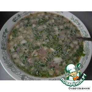 Рецепт Окрошка с кальмарами