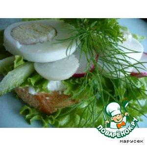 Рецепт Бутерброд дачника