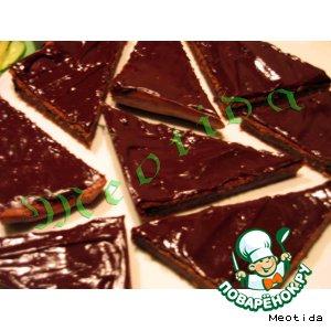 Рецепт Шоколадно-сметанные пирожные