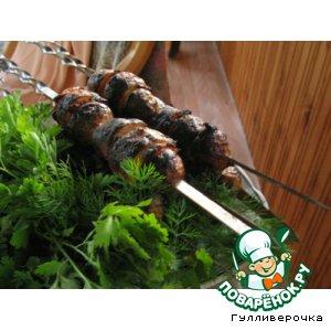 Рецепт Картошечка с грудинкой на углях