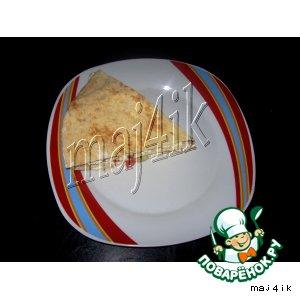 Рецепт Тортик из лаваша к завтраку