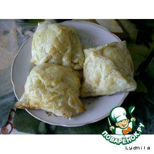 Рецепт Фаршированные яйца в слоеном тесте