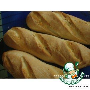 "Рецепт Багет по рецепту Арабский хлеб ""Pitta"""