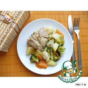 Рецепт Рагу из кролика с овощами