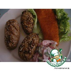 Как готовить Картошка по-деревенски домашний рецепт приготовления с фотографиями пошагово