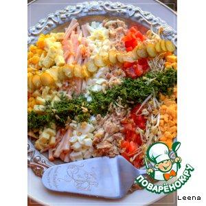 Рецепт Кобб-салат (Cobb Salad)
