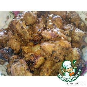 Рецепт Шашлык из свинины в казане