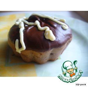 """Рецепт Кексы """"Шоколадное безумие"""""""