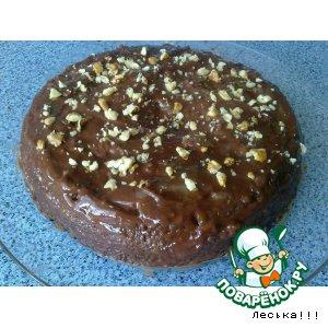 Рецепт Шоколадный кекс с маком из микроволновки