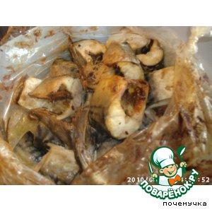 А-ля скумбрия в рукаве пошаговый рецепт приготовления с фото