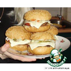 Рецепт Чизбургер домашний