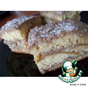Рецепт Апельсиново-кокосовый торт