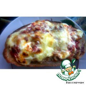 Рецепт Горячий бутерброд 1000 +1