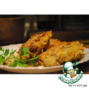 Рецепт Хлебные котлеты с овощами (сербское блюдо)