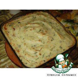 Рецепт Ароматная картофельная запеканка
