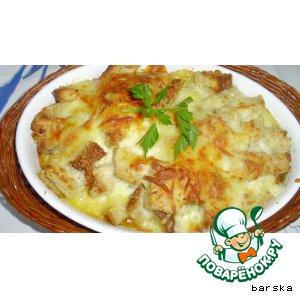 Рецепт Датская сырная запеканка