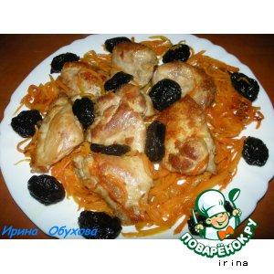 Рецепт Цимес с мясом