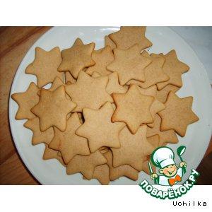 Рецепт Печенье с медом и корицей