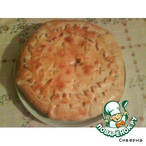 Рецепт Пирог с мясом и картофелем