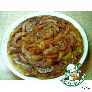 """Рецепт Французский яблочный пирог """"Татен"""""""