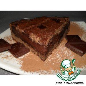 "Рецепт Пирог ""Терпкий шоколад"""
