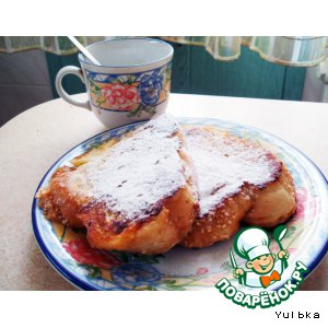 Французские тосты рецепт с фото пошагово