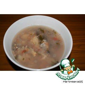 Рецепт Рыбный суп - Зама
