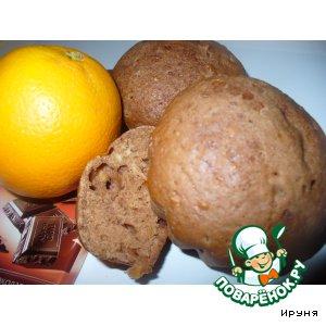 Рецепт Апельсиново-шоколадные маффины