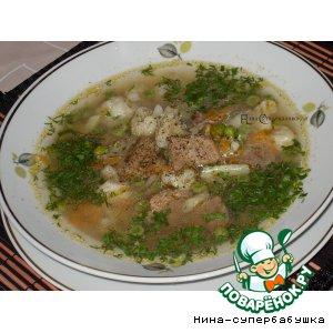 Рецепт Суп из говядины с овощами