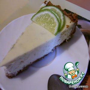 Рецепт Творожный пирог с лаймом