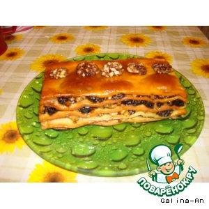 Рецепт Восточное пирожное