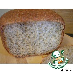 Рецепт Деревенский хлебушек с укропом и луком
