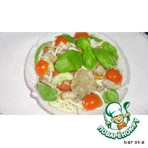 Рецепт Итальянский макаронный салат с вешенками