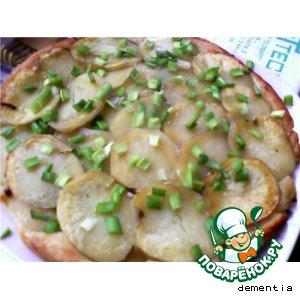 Рецепт Пирог с рыбой и картофелем