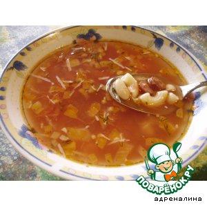 Рецепт Томатный суп в итальянском стиле