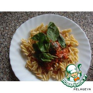 Рецепт Итальянский соус к пасте из цуккини и пряных трав