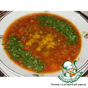 """Рецепт Суп """"Чили кон карне"""""""