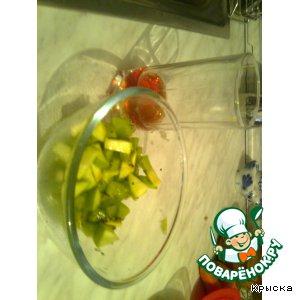 Рецепт Зеленый салатик
