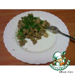 Рецепт Печень говяжья в сметане