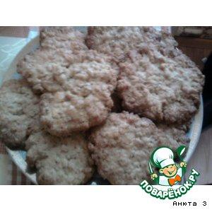 Овсяное печенье простой пошаговый рецепт с фотографиями как готовить