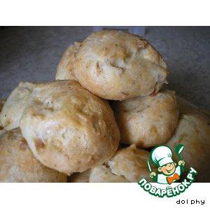 Рецепт Заварные булочки-облачка с сыром и розмарином