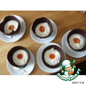 Рецепт Шоколадные яйца