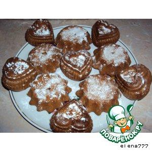 Рецепт Бисквитные кексики