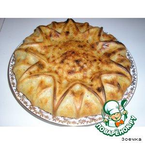 Рецепт Простой домашний хлеб с луком